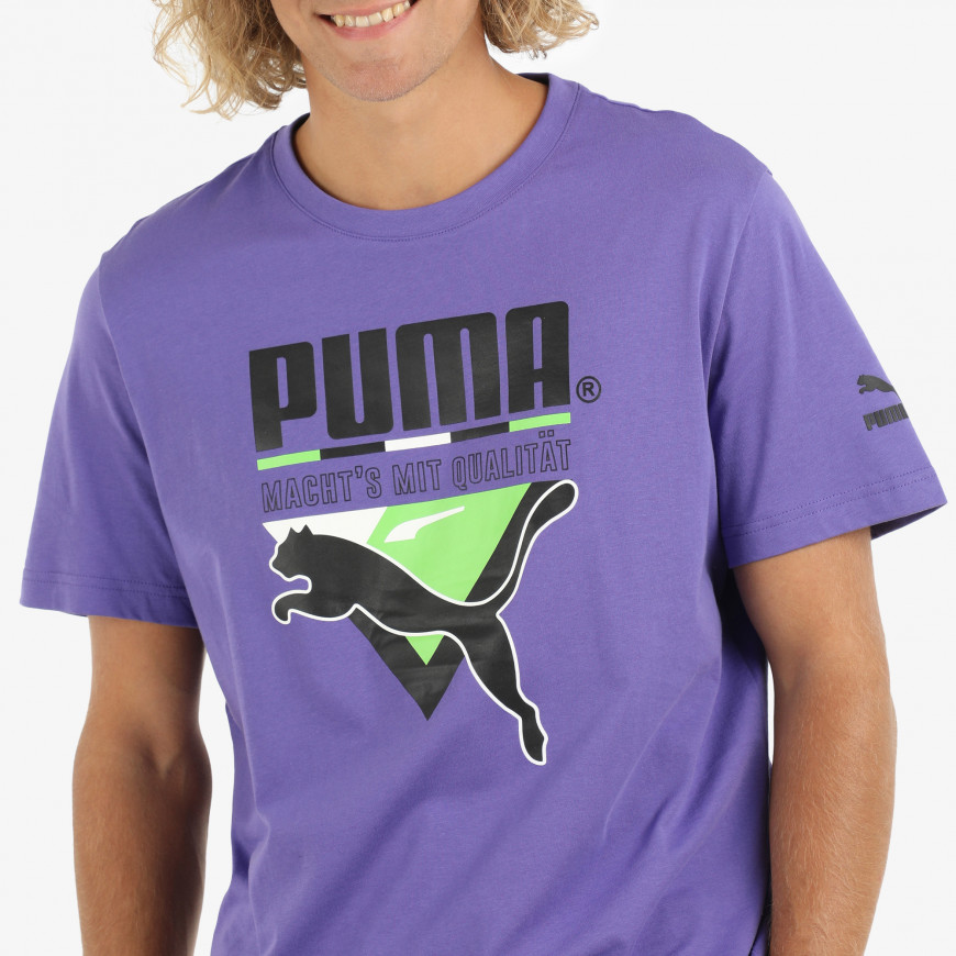 Puma Tfs Graphic Tee - фото 4