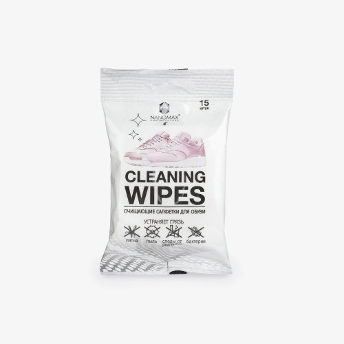 Nanomax Cleaning Wipes, 15 шт