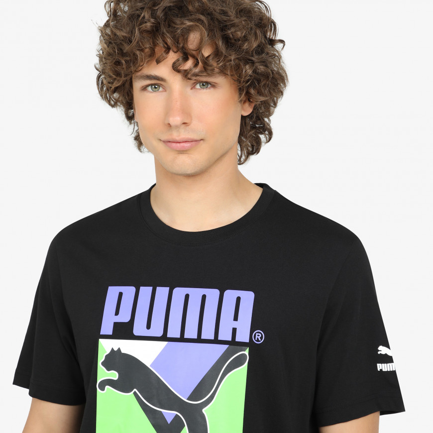 Puma Tfs Graphic Tee - фото 4