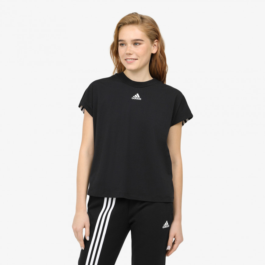 adidas Must Haves 3-Stripes Tee - фото 1