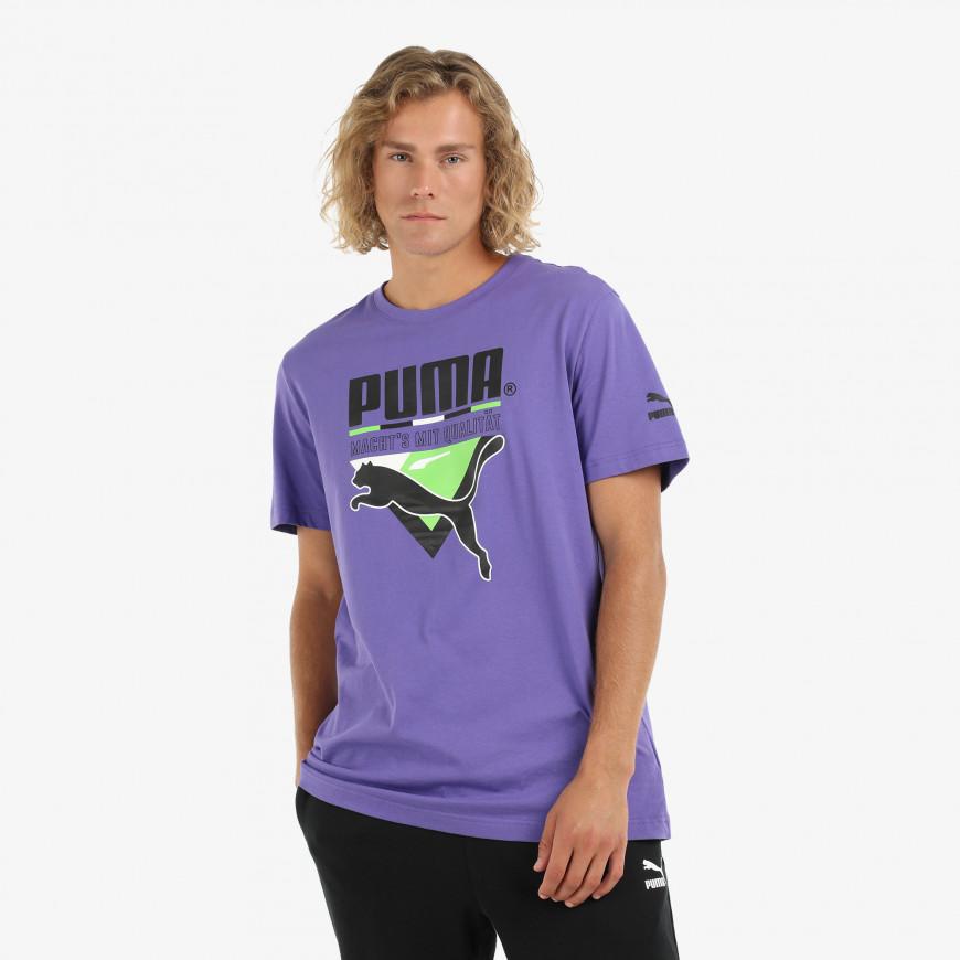 Puma Tfs Graphic Tee - фото 1